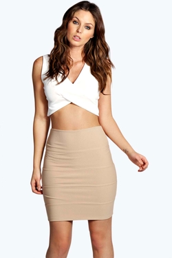 Boohoo Night - Jolie Bandage Mini Skirt