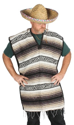 Alexanders Costumes - Mexican Poncho