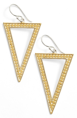 Anna Beck - Gili Open Triangle Drop Earrings