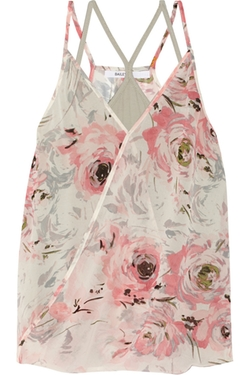 Bailey 44 - Betz Layered Floral-Print Chiffon Top