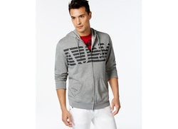 Armani Jeans  - AJ Eagle Full-Zip Hoodie