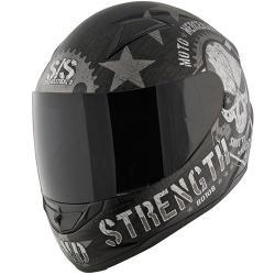 Speed and Strength - SS1100 Moto Mercenary Helmet Matte Black
