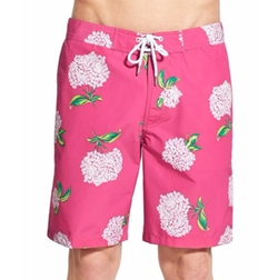 Bonobos - Flower Print Board Shorts