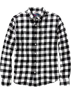 Old Navy - Slim-Fit Patterned Flannel Shirts