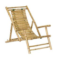 Bamboo54  - Bamboo Recliner Beach Chair