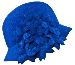 Ophelie Hats - Cloche Hat Garden Flowers