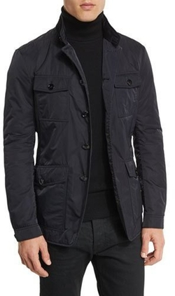 Tom Ford - Lightweight Down-Fill 4-Pocket Military Jacket
