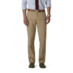 Dockers - Easy Khaki D1 Slim-Fit Flat-Front Pants