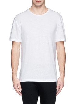 T By Alexander Wang - Contrast Back Yoke T-Shirt