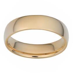 Fremada  - 14k Yellow Gold 6-mm Wedding Band