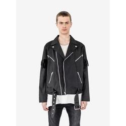Profound Aesthetic - Fringe Biker Jacket