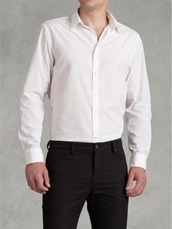 John Varvatos - Pickstitch Detail Shirt