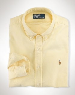 Ralph Lauren - Classic-Fit Solid Oxford