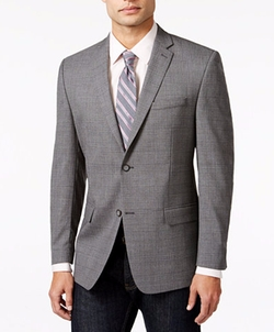 Marc New York - Plaid Slim Fit Sport Coat