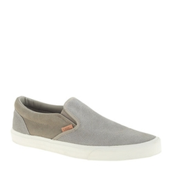 Vans  - Suede Slip-On Sneakers