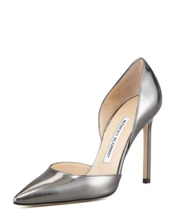 Manolo Blahnik - Tayler Pointed Metallic D