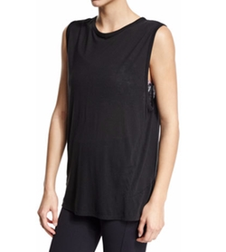 Live the Process  - Linear Sleeveless Muscle Sport Tee