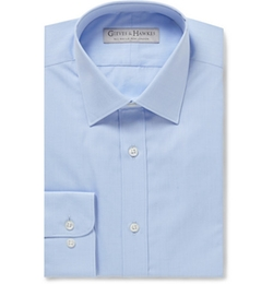 Gieves & Hawkes   - Cotton-Poplin Shirt