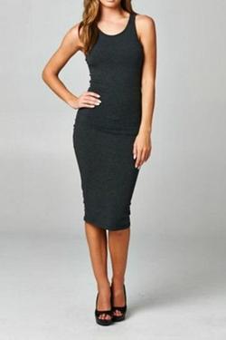 Cherish - Racerback Midi Dress