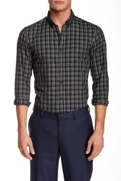 The Kooples - Plaid Long Sleeve Shirt