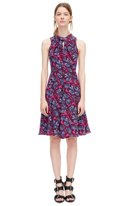 Rebecca Taylor - Mystic Garden Print Twist Dress