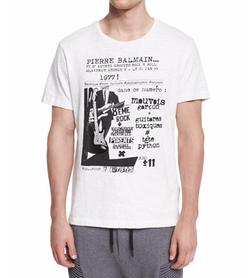 Pierre Balmain  - Logo Graphic Short-Sleeve T-Shirt