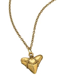 Allison Daniel - Shark Tooth Pendant Necklace