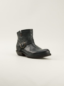 Fiorentini + Baker Buckled  - Ankle Boots