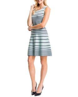 Cynthia Steffe - Kyra Striped Fit & Flare Dress