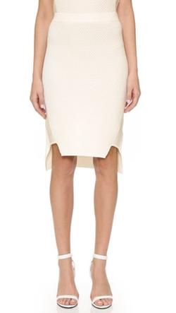 Jonathan Simkhai - Tread Knit High Low Skirt