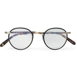Garrett Leight California Optical - Wilson Round-Frame Acetate & Metal Optical Glasses