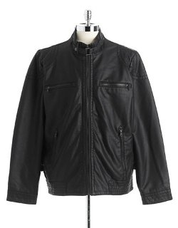 Calvin Klein  - Faux-leather Jacket