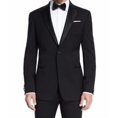 Armani Collezioni - G-Line Satin-Lapel Wool Tuxedo Suit