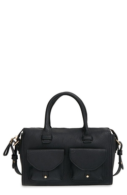 Big Buddha  - Faux Leather Satchel Bag