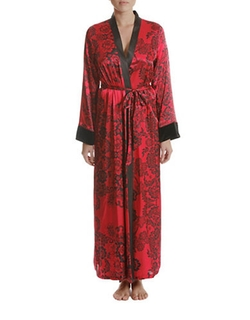 In Bloom - Long Wrap Robe