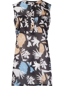 Andrea Marques - Abstract Print Blouse