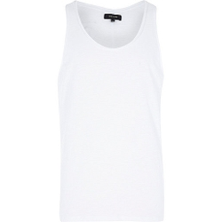 River Island - Curve Hem Side Zip Tank Top