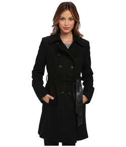 DKNY - Color Block Trench Coat