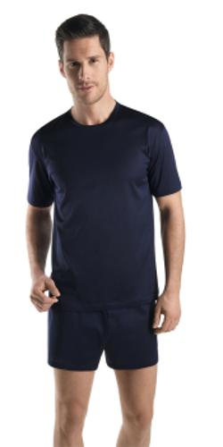 Hanro of Switzerland - Cotton sporty t-shirt