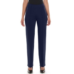 Croft & Barrow - Seam-Front Pull-On Pants