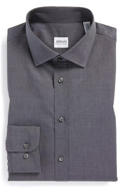 Armani Collezioni - Slim Fit Dress Shirt