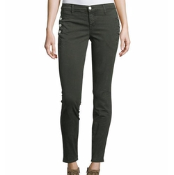 J Brand  - Zion Mid-Rise Skinny Ankle Jeans