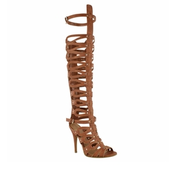 Fashion Thirsty - Womens Gladiator Knee High Sandals