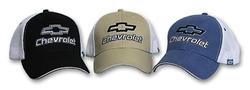A&E Designs - Fine Embroidered Mesh Chevy Cap