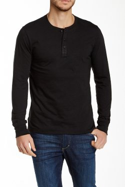 Nordstrom Rack  - Long Sleeve Jersey Henley Shirt