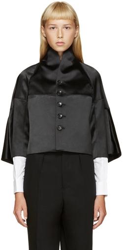 Junya Watanabe - Black Satin Jacket