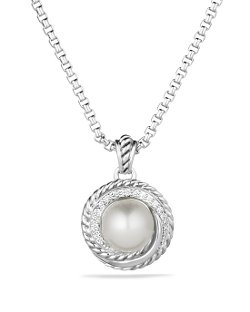 David Yurman - Pearl Crossover Pendant