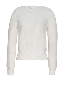 Jonathan Simkhai - Tread Eyelet Crewneck Sweater