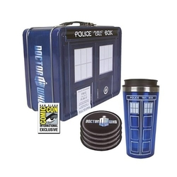 Bif Bang Pow! - Doctor Who Tardis Tin Tote Gift Set - Sdcc Exclusive