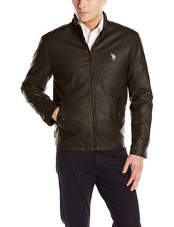 U.S. Polo Assn. - Barracuda Faux-Leather Jacket